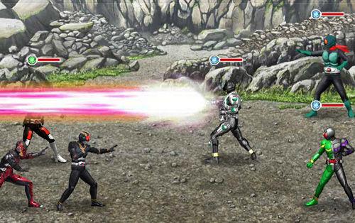 仮面ライダー バトオンラインのスクリーンショット3